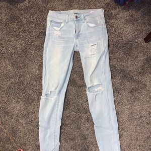 Light Washed American Eagle Jeans